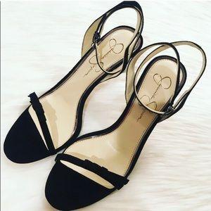 NEW Jessica Simpson Black Suede Heels